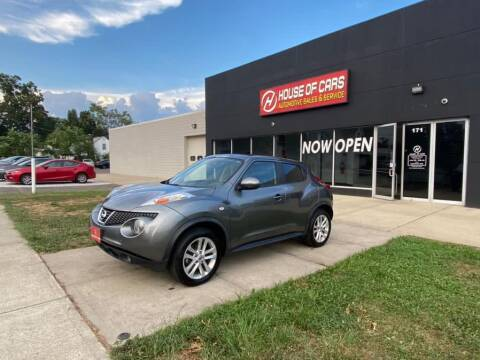 2013 Nissan JUKE for sale at HOUSE OF CARS CT in Meriden CT