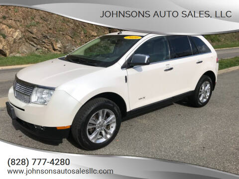 2010 Lincoln MKX for sale at Johnsons Auto Sales, LLC in Marshall NC