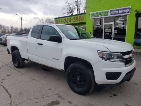 2018 Chevrolet Colorado for sale at Empire Auto Group in Indianapolis IN