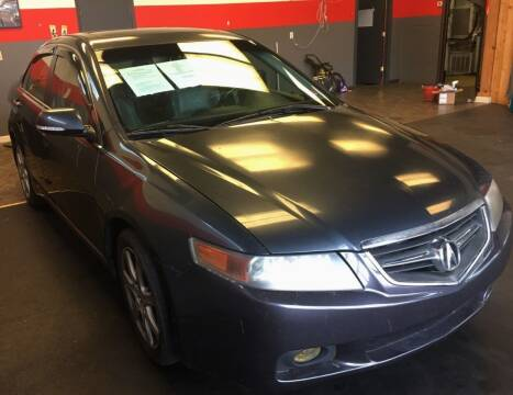 2004 Acura TSX for sale at D & J AUTO EXCHANGE in Columbus IN
