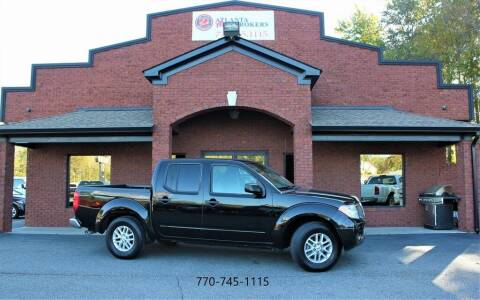 2015 Nissan Frontier for sale at Atlanta Auto Brokers in Cartersville GA