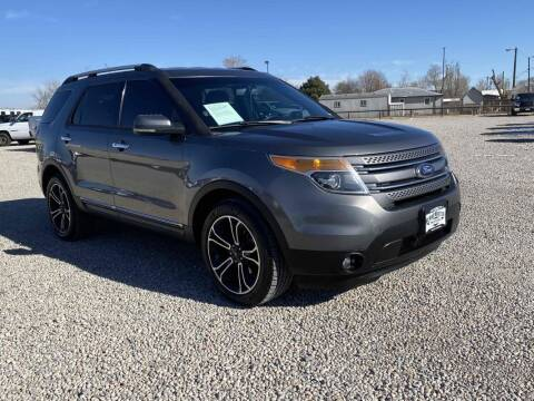 2013 Ford Explorer for sale at BERKENKOTTER MOTORS in Brighton CO