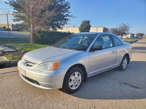 2003 Honda Civic for sale at DFW Autohaus in Dallas TX