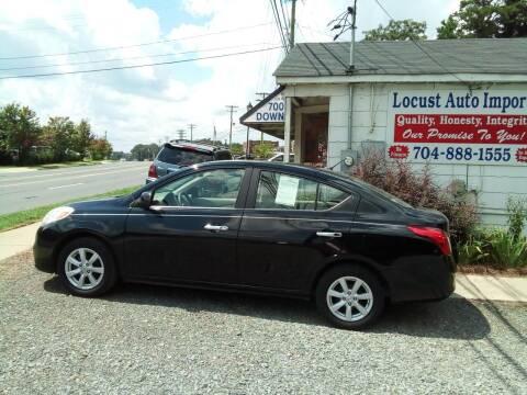 2012 Nissan Versa for sale at Locust Auto Imports in Locust NC