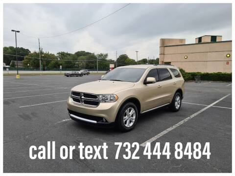 2011 Dodge Durango for sale at Ultimate Motors in Port Monmouth NJ