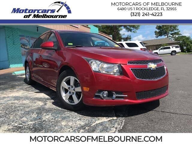 2011 Chevrolet Cruze for sale at Motorcars of Melbourne in Rockledge FL