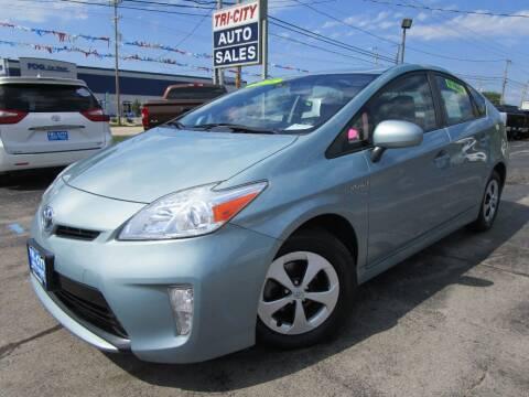 2013 Toyota Prius for sale at TRI CITY AUTO SALES LLC in Menasha WI