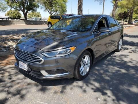 2018 Ford Fusion for sale at Matador Motors in Sacramento CA