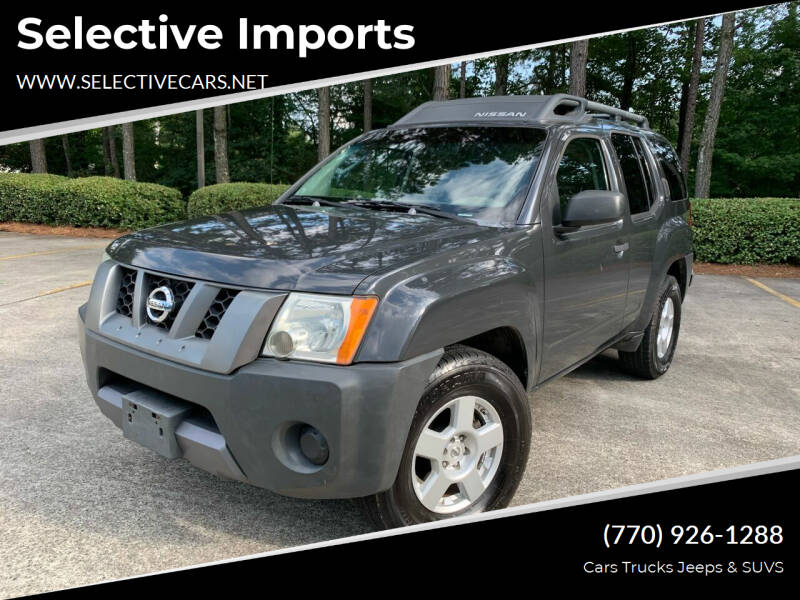 2007 Nissan Xterra for sale at Selective Imports in Woodstock GA