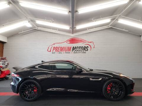 2015 Jaguar F-TYPE for sale at Premium Motors in Villa Park IL