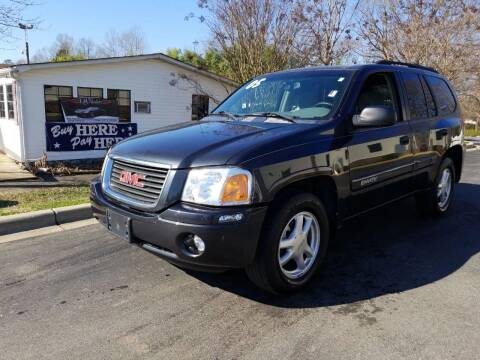 2005 GMC Envoy for sale at TR MOTORS in Gastonia NC