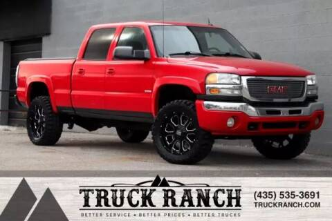 2005 GMC Sierra 2500HD for sale at Truck Ranch in Logan UT