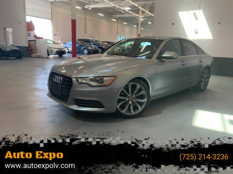 2015 Audi A6 for sale at Auto Expo in Las Vegas NV