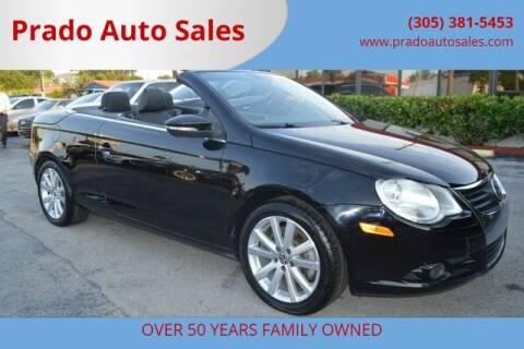 2009 Volkswagen Eos for sale at Prado Auto Sales in Miami FL