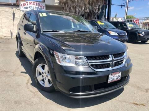 2013 Dodge Journey for sale at TMT Motors in San Diego CA