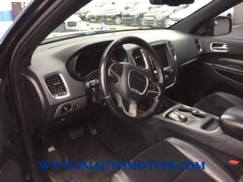 2015 Dodge Durango for sale at J & M Automotive in Naugatuck CT