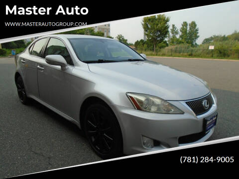 2010 Lexus IS 250 for sale at Master Auto in Revere MA