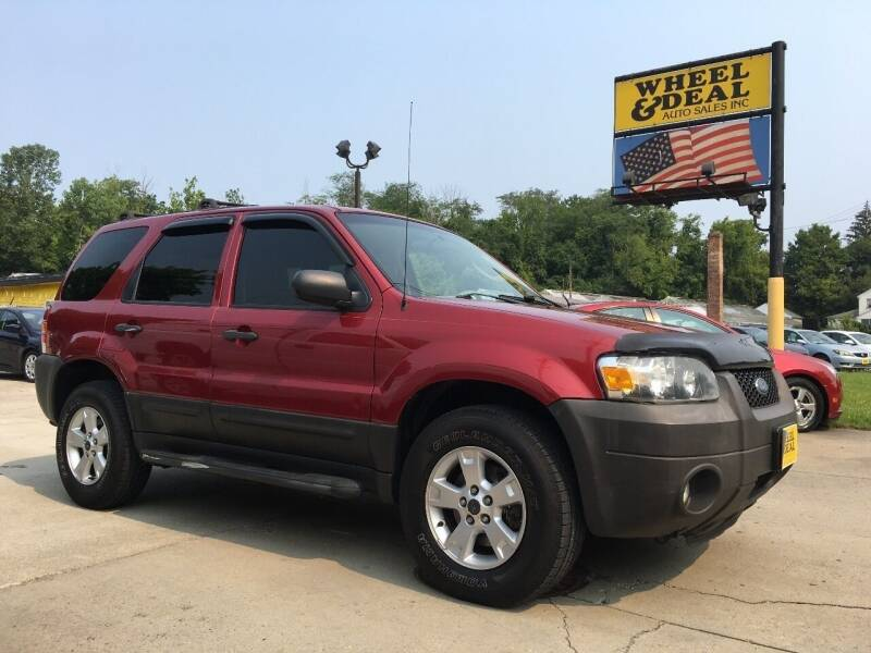 2007 Ford Escape for sale at Wheel & Deal Auto Sales Inc. in Cincinnati OH