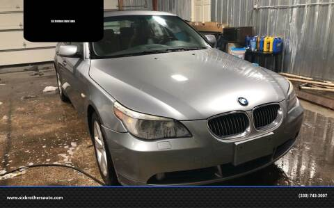 2007 BMW 5 Series for sale at Six Brothers Auto Sales in Youngstown OH