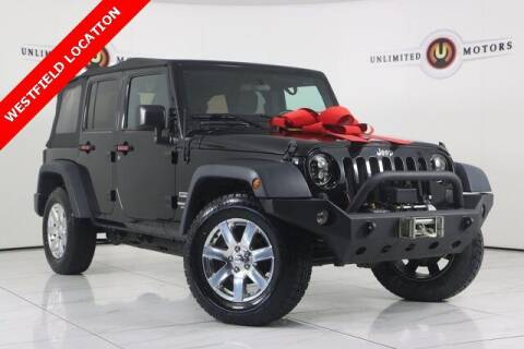 2016 Jeep Wrangler Unlimited for sale at INDY'S UNLIMITED MOTORS - UNLIMITED MOTORS in Westfield IN