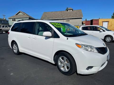 2011 Toyota Sienna for sale at 3 BOYS CLASSIC TOWING and Auto Sales in Grants Pass OR