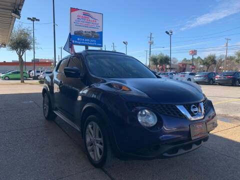 2015 Nissan JUKE for sale at Magic Auto Sales in Dallas TX