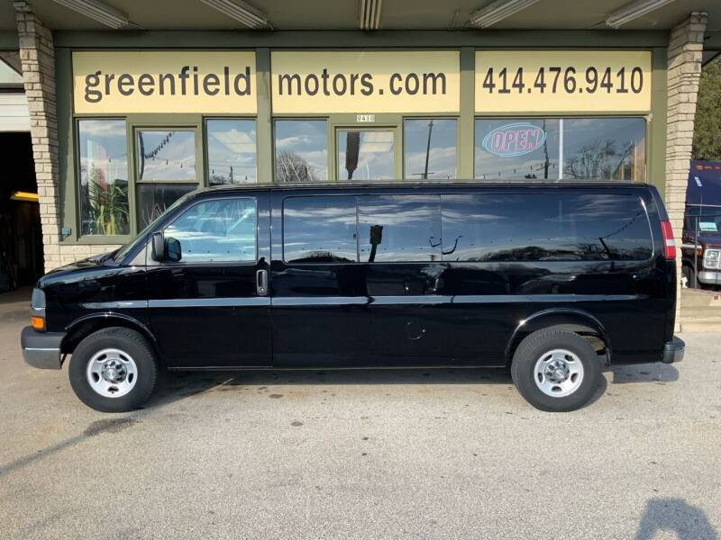 2014 Chevrolet Express Passenger for sale at GREENFIELD MOTORS in Milwaukee WI