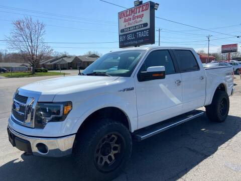 2012 Ford F-150 for sale at Unlimited Auto Group in West Chester OH