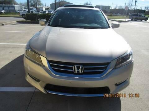 2013 Honda Accord for sale at ATLANTIC MOTORS GP LLC in Houston TX