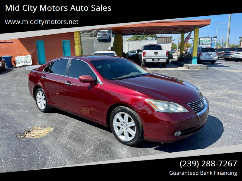 2008 Lexus ES 350 for sale at Mid City Motors Auto Sales in Fort Myers FL