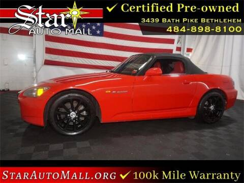 2007 Honda S2000 for sale at STAR AUTO MALL 512 in Bethlehem PA