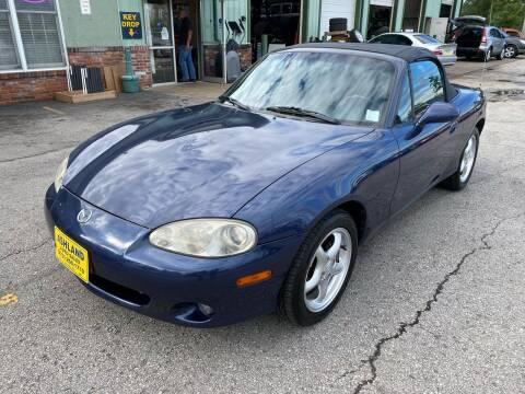 2001 Mazda MX-5 Miata for sale at ASHLAND AUTO SALES in Columbia MO