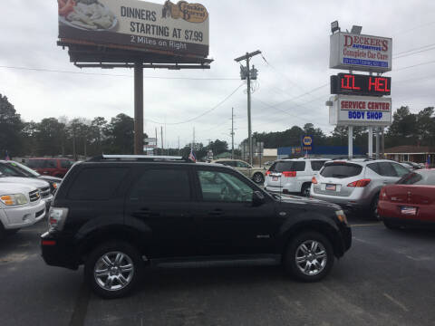 2008 Mercury Mariner for sale at Deckers Auto Sales Inc in Fayetteville NC