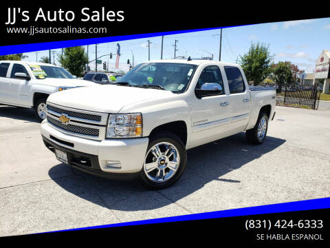 2013 Chevrolet Silverado 1500 for sale at JJ's Auto Sales in Salinas CA