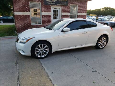 2011 Infiniti G37 Coupe for sale at El Jasho Motors in Grand Prairie TX