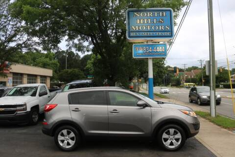 2013 Kia Sportage for sale at North Hills Motors in Raleigh NC