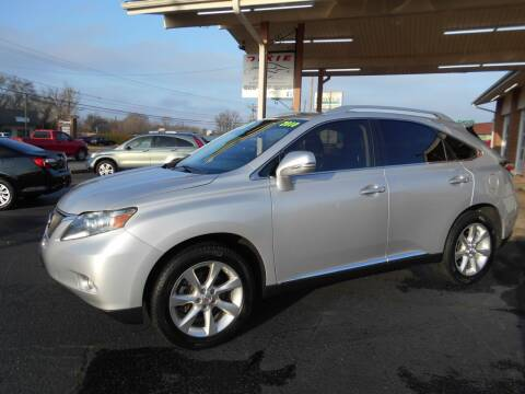 2010 Lexus RX 350 for sale at W&W Dixie Motors Inc in Hickory NC