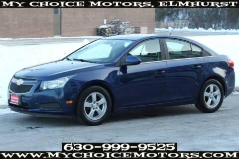 2013 Chevrolet Cruze for sale at My Choice Motors Elmhurst in Elmhurst IL