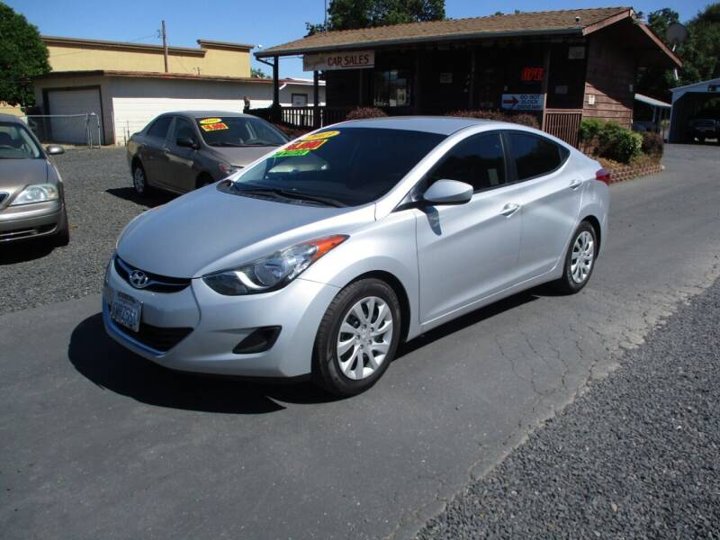 2013 Hyundai Elantra for sale at Manzanita Car Sales in Gridley CA