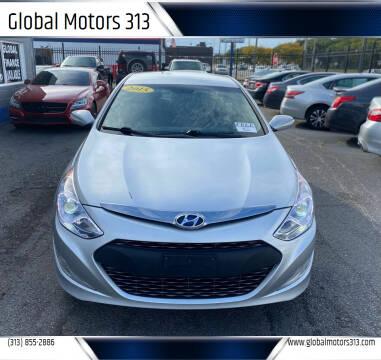 2015 Hyundai Sonata Hybrid for sale at Global Motors 313 in Detroit MI