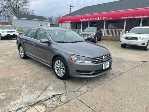 2012 Volkswagen Passat for sale at Taylor Auto Sales Inc in Lyman SC