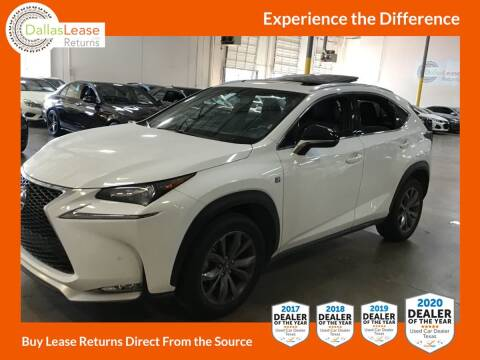 2016 Lexus NX 200t for sale at Dallas Auto Finance in Dallas TX