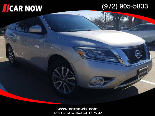 2014 Nissan Pathfinder for sale at Car Now Dallas in Dallas TX