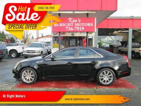 2008 Cadillac CTS for sale at Bi Right Motors in Centralia WA