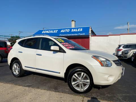 2013 Nissan Rogue for sale at Gonzalez Auto Sales in Joliet IL