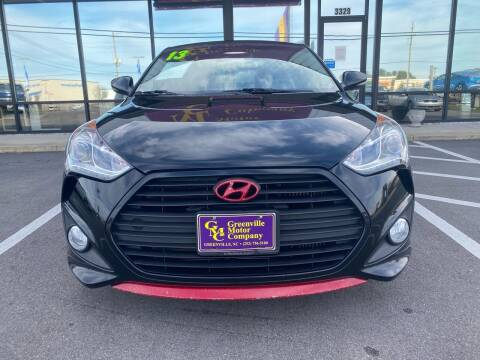 2013 Hyundai Veloster for sale at Greenville Motor Company in Greenville NC