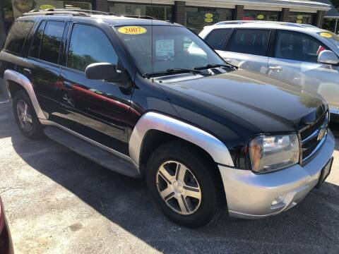 2007 Chevrolet TrailBlazer for sale at Oxford Auto Sales in North Oxford MA