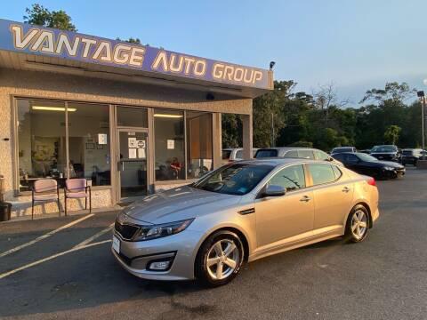 2015 Kia Optima for sale at Vantage Auto Group in Brick NJ
