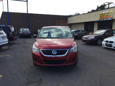 2009 Volkswagen Routan for sale at GREAT DEAL AUTO SALES in Center Line MI
