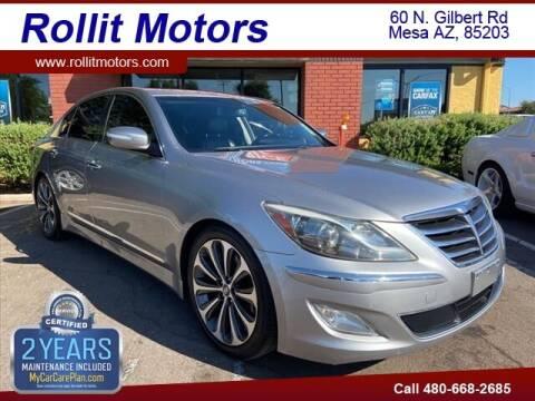 2013 Hyundai Genesis for sale at Rollit Motors in Mesa AZ